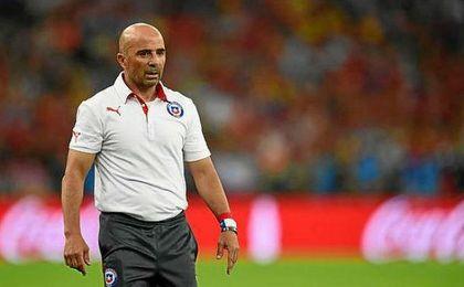 Sampaoli, nuevo entrenador del Sevilla.