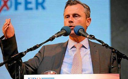 Norbert Hofer, líder del Partido de la Libertad.