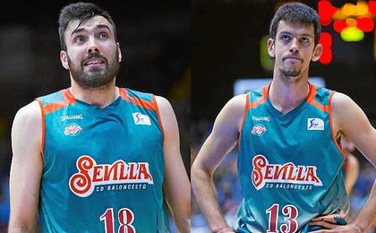 Pierre Oriola y Nenad Miljenovic ya no pertenecen a la entidad hispalense.