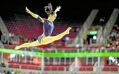 Será la única representante española en la disciplina de Gimnasia Artística.