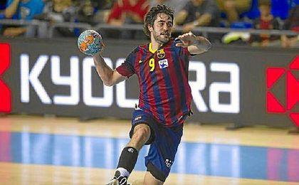Entrerríos, jugador del Barça y capitán de la selección española de balonmano.