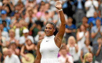 Serena Williams a un paso de la final.