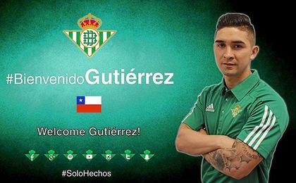 La bienvenida que le ha dado el Betis a Felipe Gutiérrez.