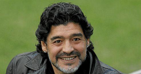Diego Armando Maradona es columnista del ´Times´ de India.