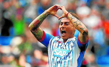 Vargas ya coincidió con Sampaoli tanto en la Universidad de Chile como en la selección chilena.