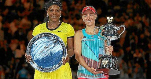 Kerber y Serena, Abierto de Australia