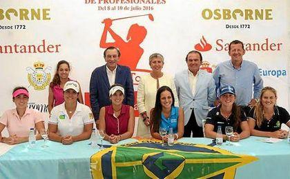 Presentacióndel Santander Campeonato de España de Profesionales Femenino