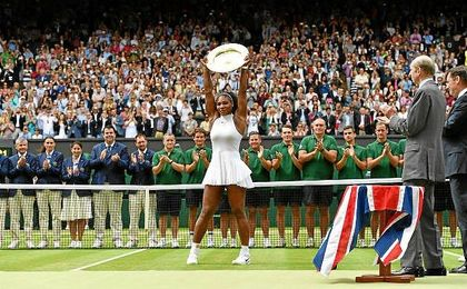 Se impuso a la alemana Angelique Kerber por 7-5 y 6-3, en una hora y 21 minutos.