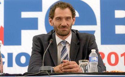 Garbajosa, nuevo presidente de la FEB.