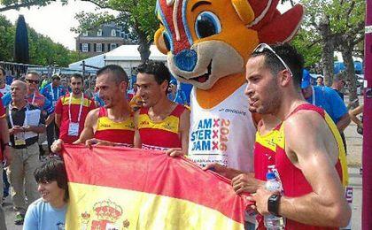 El medio maratón era una de las novedades de esta cita continental.