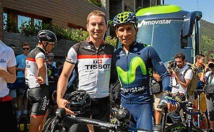 Lorenzo junto a Quintana.