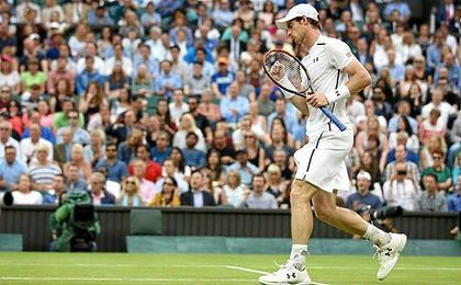 Andy Murray ha sumado 1.200 puntos tras conquistar Wimbledon.