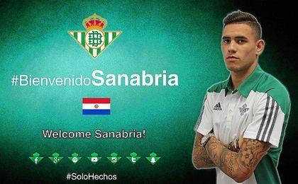 Sanabria ya es bético a todos los efectos