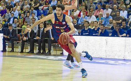 Abrines llegó al Barça en la 12/13 procedente de Unicaja.