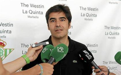 Ángel Haro ha comparecido este mediodía en Marbella.