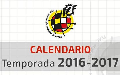 Calendario del Grupo IV de Segunda B para la 2016 / 17