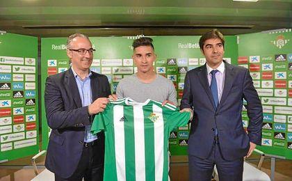 Felipe Gutiérrez, junto a Torrecilla y Haro.