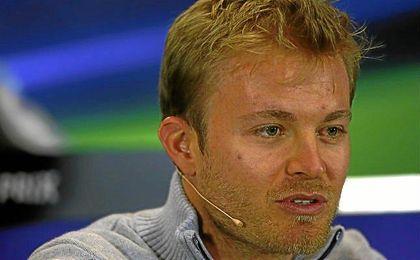 """""""Voy a intentar sacar lo mejor de mí en Hungaroring"""", afirmó Rosberg."""