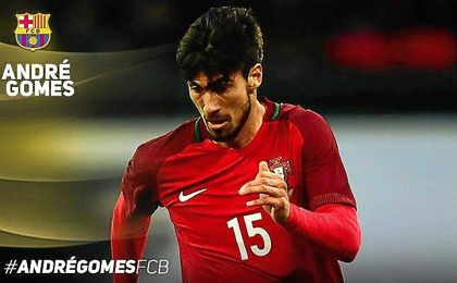 El portugués firma por cinco temporadas.