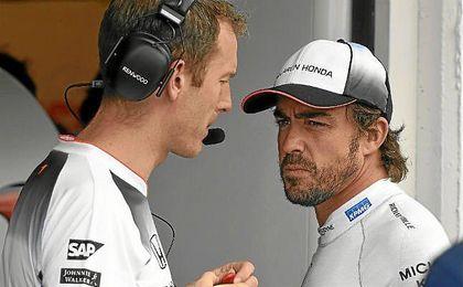 """Alonso se mostr� confiado ya que en este circuito """"el motor cuenta algo menos""""."""