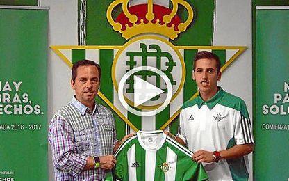 Javi S�nchez, nuevo jugador del Real Betis Futsal.