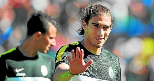 Martín Cáceres ha quedado libre.