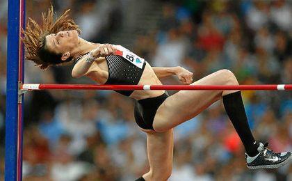 Ruth Beitia consiguió su título número 27.