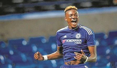 Abraham ha marcado 72 goles en 101 partidos como �blue�.