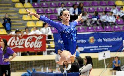 La gimnasta sevillana Ana Pérez.