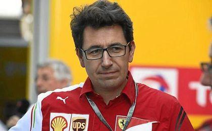 Mattia Binotto, nuevo directo técnico de la ´escudería´ Ferrari.