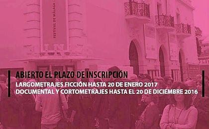 Abierto el periodo de inscripción para participar en el Festival de cine de Málaga.