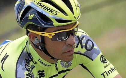 """Alberto Contador: """"Vi muchas etapas del Tour en la televisión, pero no fue fácil; me pareció difícil aceptar que yo no estaba allí."""