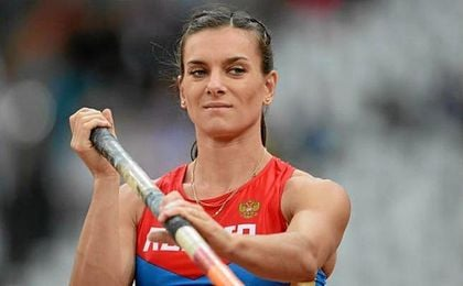 Isinbayeva ve como a sus 34 años se alejan sus opciones de volver a formar parte de un entramado olímpico.