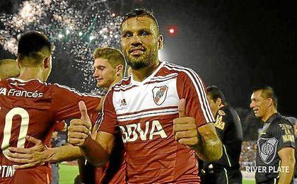 Gabriel Mercado se despidi� de River Plate y podr�a llegar al Sevilla.