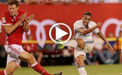 Danilo da la victoria al Madrid en el amistoso ante el Bayern