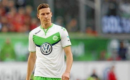 Julian Draxler aterriz� el a�o pasado en Wolfsburgo por 35 millones procedente del Shalke 04.