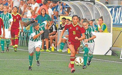 El Betis Féminas se impuso a la selección de Venezuela en la final del Cotif.