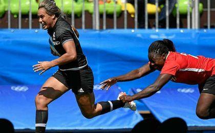 Las ´Leonas´ pierden su segundo partido en rugby ante Nueva Zelanda