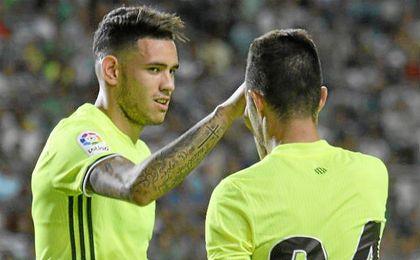 Frente al Sporting de Portugal quedó claro que el Betis cuenta con una delantera muy compenetrada.