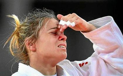 Gómez debutaba en unos Juegos Olímpicos.
