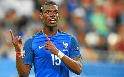 Pogba volverá a jugar en el Manchester United.