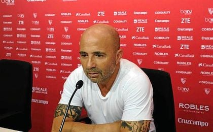 Jorge Sampaoli comparce a las 17:00 horas.