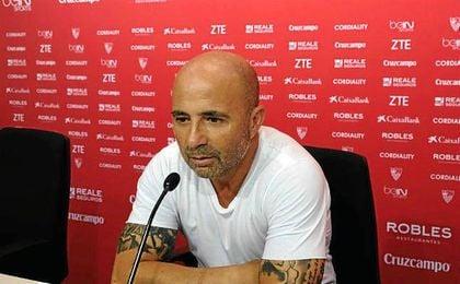 Jorge Sampaoli comparce a las 17:00 horas.