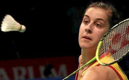 Carolina Marín se ha estrenado con victoria en Río.