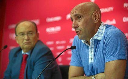 Monchi ha analizado el mercado y la actualidad deportiva de Sevilla.