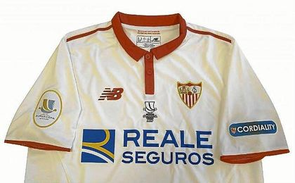 Así será la camiseta del Sevilla para la Supercopa de España.