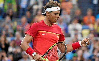 Rafael Nadal buscar� revalidar su medalla de oro de Pekin 2008.