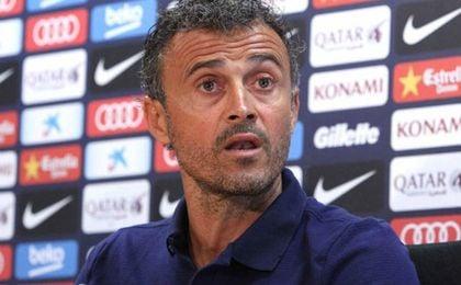 Luis Enrique elogió al técnico del Sevilla FC.