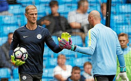 Willy Caballero le ha arrebatado la titularidad a Joe Hart en el City.