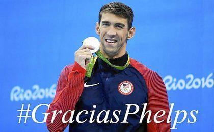 """Phelps: """"Esta es la forma de la que quería acabar mi carrera"""""""